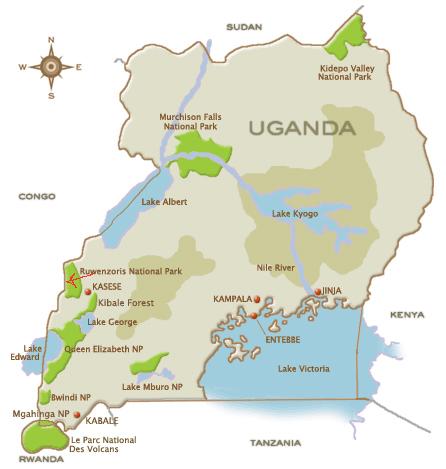 GETTING THERE Mountain Rwenzori National Park Uganda