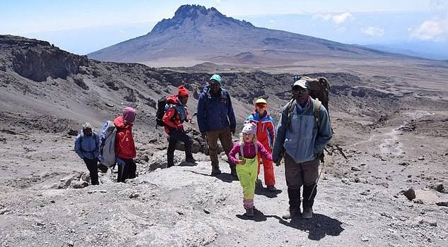 Six-Year-Old Briton Ashleen Becomes the Youngest Girl to Summit Mount Kilimanjaro-Tanzania Safari News