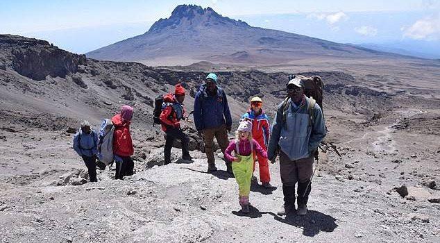Six-Year-Old Briton Ashleen Becomes the Youngest Girl to Summit Mount Kilimanjaro-Tanzania Safari News